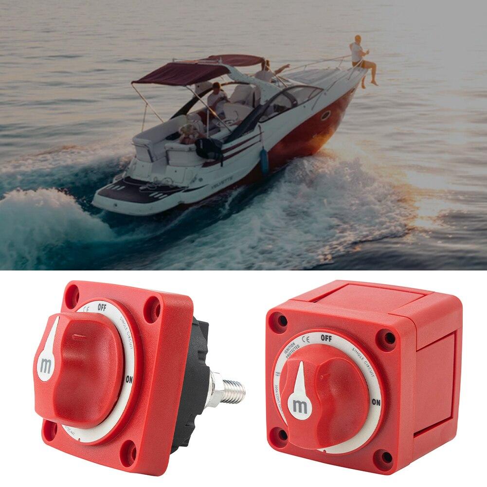 Blue Sea 6006 M-Series Mini Battery Switch Single Circuit On / Off For Marine Boat RV Trailer Camper Boat Accessories Dropship