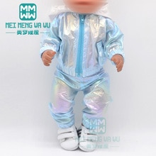 Clothes for doll fits 43cm-45cm toy new born doll accessories Casual suits, jackets, shoes Christmas