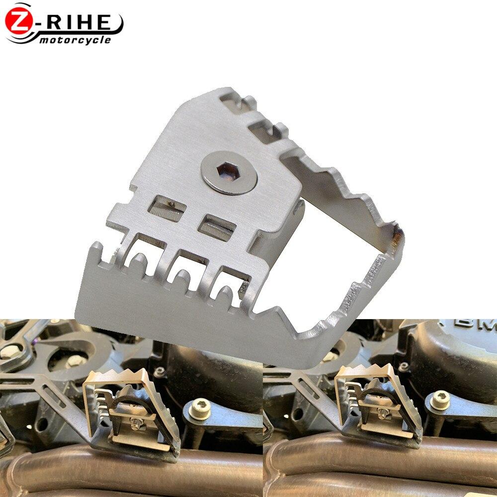 Extensión de palanca de freno de pie para motocicleta, extensión de clavija de freno trasero para BMW F800GS F700GS F650GS R1150GS R1200GS ADV/LC