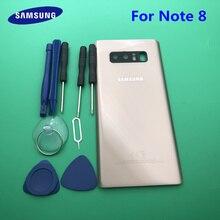 Сменный аккумулятор NOTE 8 AAA +, стеклянная Задняя панель для Samsung Galaxy Note 8 N950 N950F + инструмент