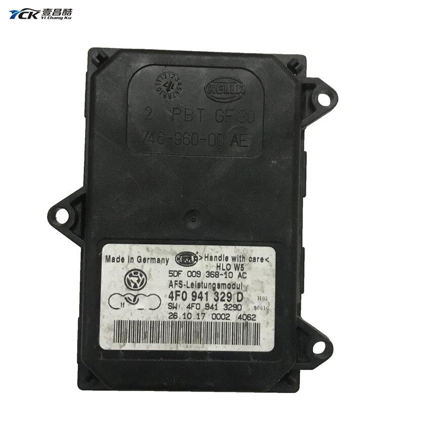 1PC YCK 4F0 941, 329 D 4F0941329D Original AFS Leistungsmodul coche accesorios de luz 5DF 009 368- 10 AC 5DF00936810