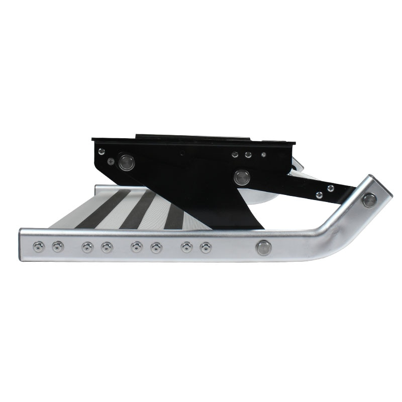 DREAMRV Entry Doorway Manual Folding Ladder Step Motorhomes Aluminum Alloy RV Pedal Step Telescopic Antiskid Caravan Accessories enlarge