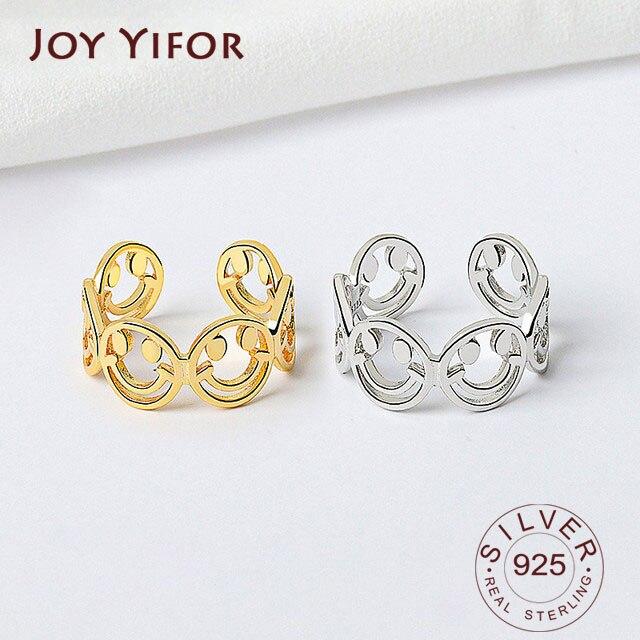 Кольца-на-палец-из-серебра-925-пробы-Изящные-Ювелирные-изделия-новые-модные-креативные-кольца-с-ажурным-улыбающимся-лицом-элегантные-аксес