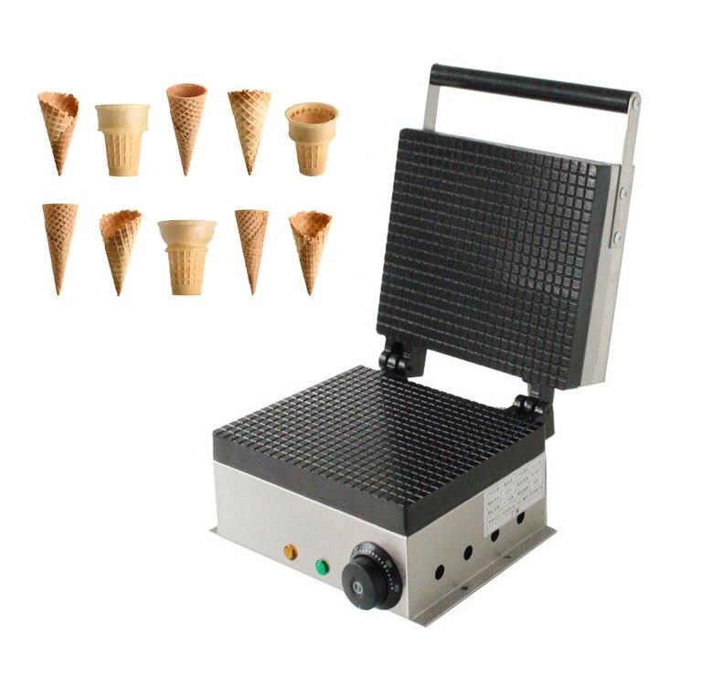 New Product Egg Cone Machine Ice Cone Rolling Machine enlarge