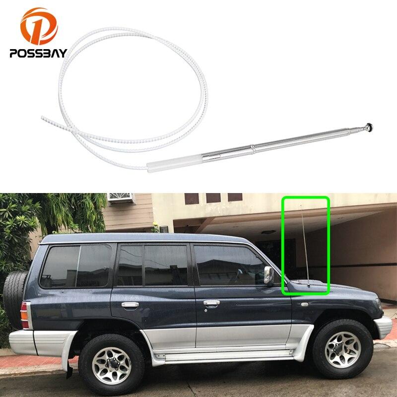 Универсальная автомобильная антенна на присоске с 6 антеннами AM/FM, автомобильные аксессуары для Mitsubishi Pajero 2000, 2001, 2002, 2003, 2004, 2005, 2006