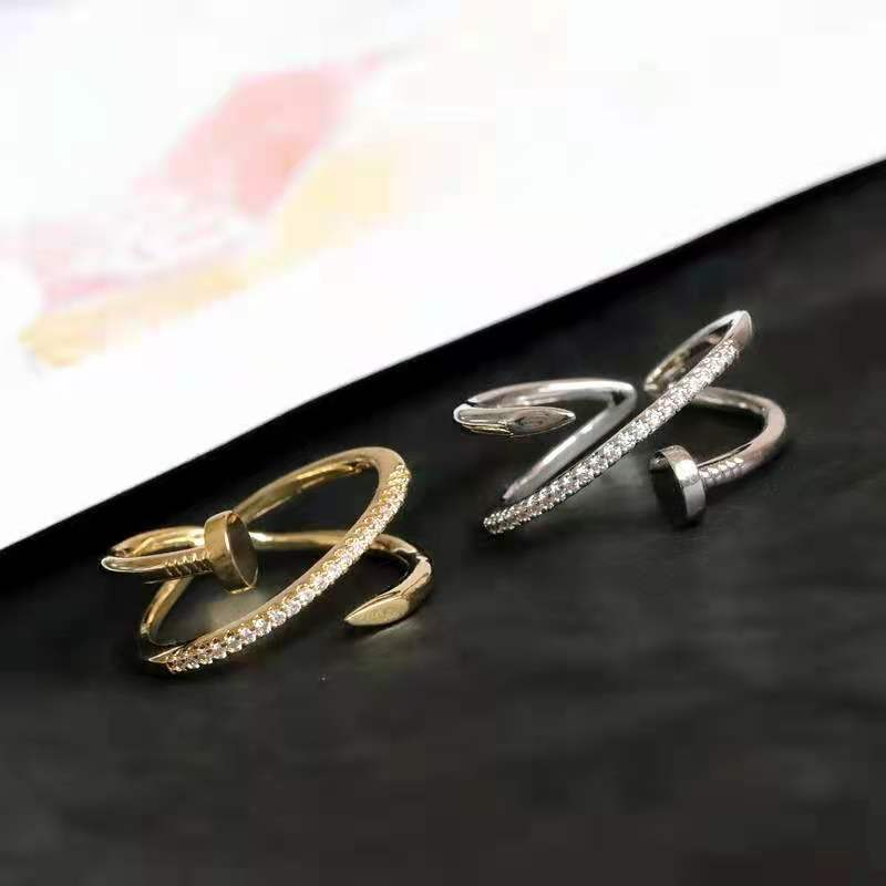 Multilayer Nail Rings For Women Logistics Lost Redelivery of Goods Shipping Costs Dedicated Please D