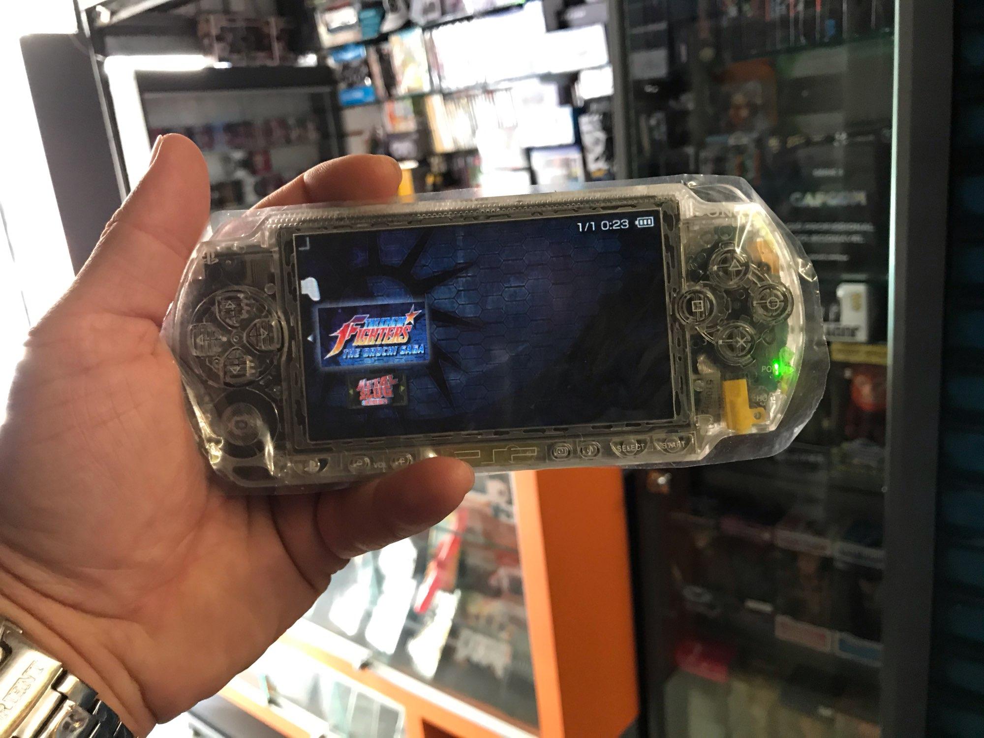 Consola de juegos Retro Sony Psp-1000 Psp 1000, reacondicionamiento profesional, consola de juegos portátil