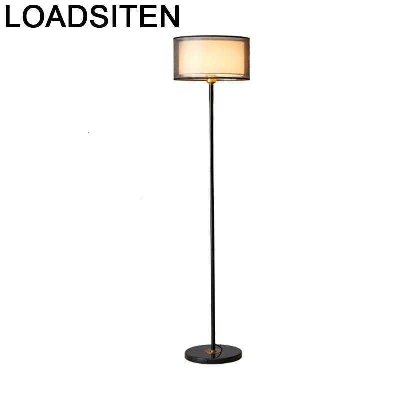 Lámpara De pie nórdica Para sala De estar, Lampara De Luz De...