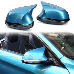 1 Pair 6PCS Real Carbon Fiber Rearview Mirror Cover For BMW 1 2 3 4 X Series F20 F21 F22 F23 F30 F31 F32 F33 F36 Old X1 F87 M2