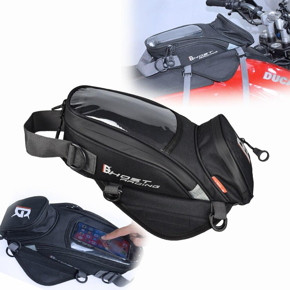 Universal bolsa de depósito de combustible para la motocicleta Caballero bolsa de viaje impermeable para DUCATI/KWASAKI portátil bolso en la navegación móvil bolsa