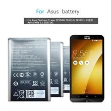 C11P1501 Mobile Phone Battery For Asus ZenFone 2 Laser ZE550KL ZE601KL ZE551KL Replacement Battery 3000mAh
