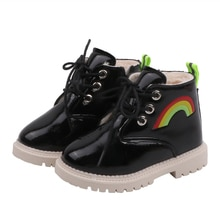 COZULMA Boys Girls Winter Fashion Boots Children Martin Boots Kids Warm Snow Boots Baby Girls Boys Sport Shoes Children Sneakers