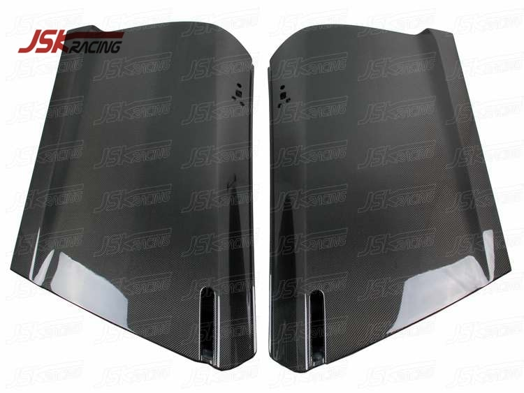 2008-2016 puertas de fibra de carbono estilo O (pares) para NISSAN R35 GTR (JSKNSR508126)