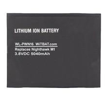 TTVXO 5040mAh batterie pour Netgear Nighthawk M1,MR1100,W-10 308-10019-01