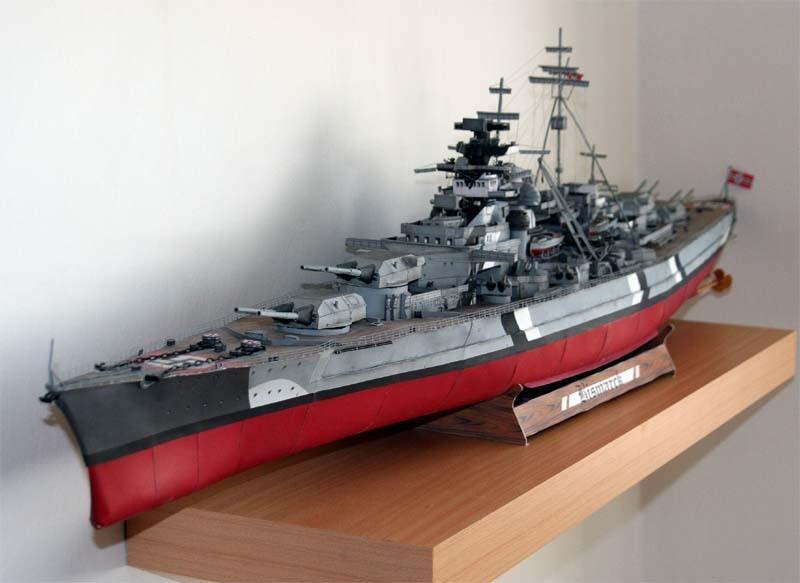 90 см немецкий линкор Bismark G182 3D бумажная модель Руководство DIY немецкая Лодка Корабль бумажная модель игрушки для детей