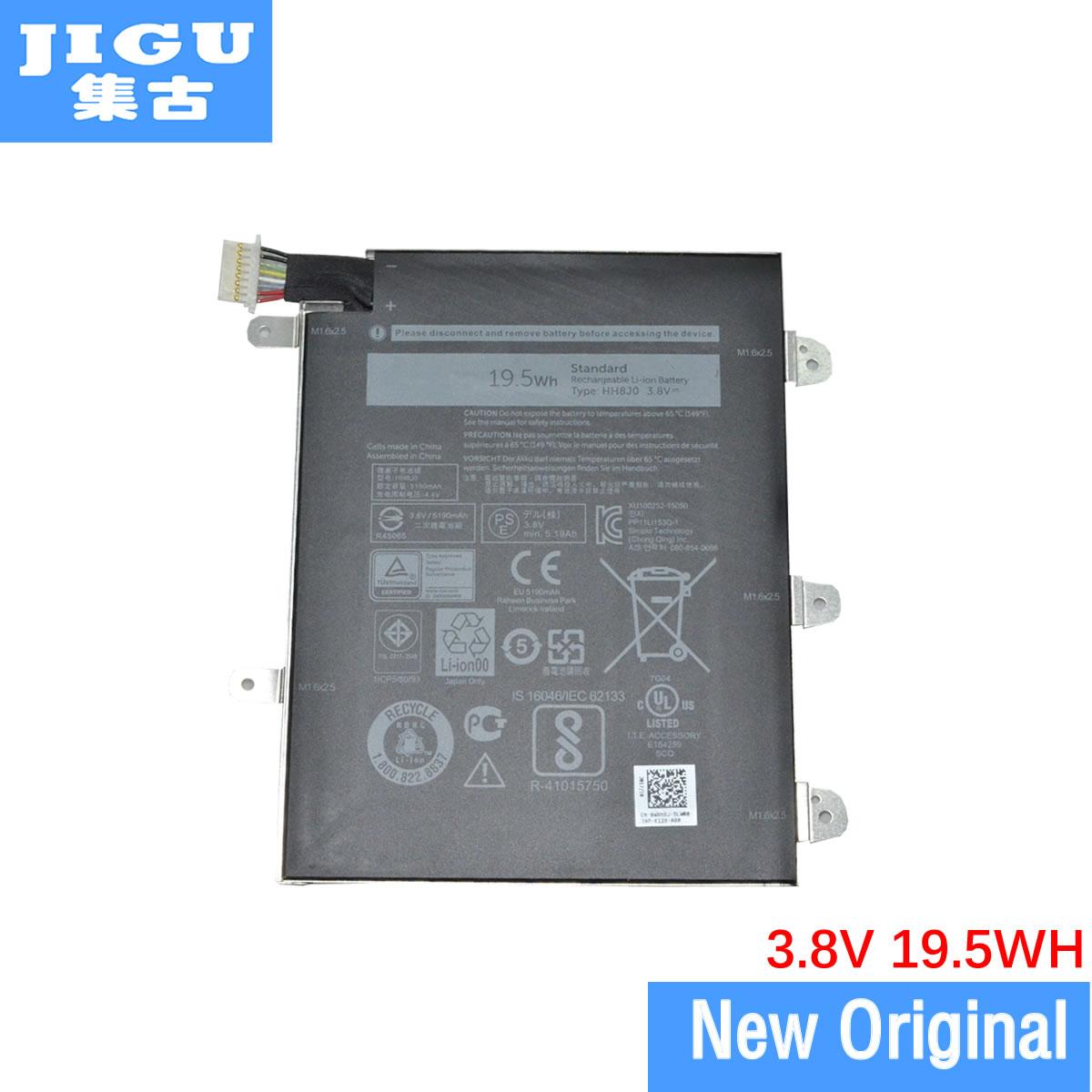 JIGU بطارية الكمبيوتر المحمول الأصلي HH8J0 HH8JO WXR8J لديل