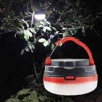 led camping light emergency lantern outdoor tools camping accessories portable hiking fishing lamp auto tents sun shelter light