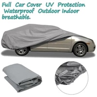 sml waterproof dustproof outer membrane full car cover uv resistant fabric breathable outdoor rain snow ice resistant