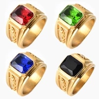 vintage carving dragon ring with stone wide ring for men hades myth male rings metal accessories new fashion jewelry