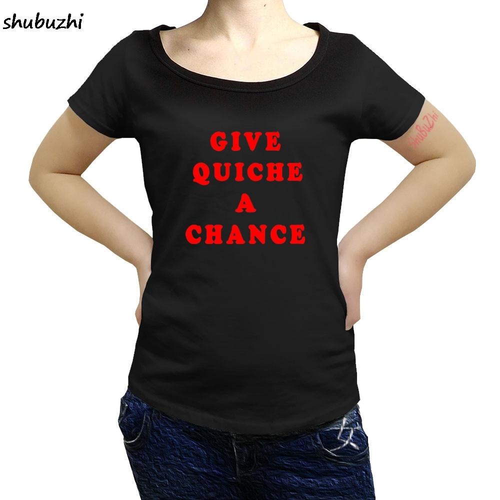 Gran oferta, camiseta informal para mujer, camiseta A la moda de dar Quiche, camiseta de moda para mujer, camiseta con Gato Rimmer, enano rojo, Idea divertida para regalo sbz3467