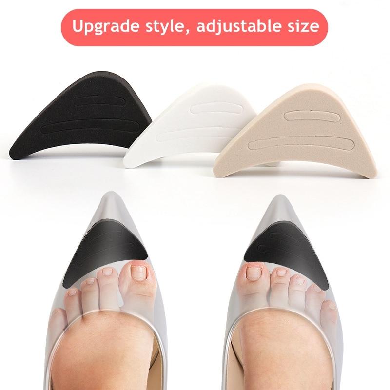 1 пара Для женщин высокой пятки ног штепсельная втулка аксессуары для обуви спереди наполнитель облегчение боли подушки протектор передняя...