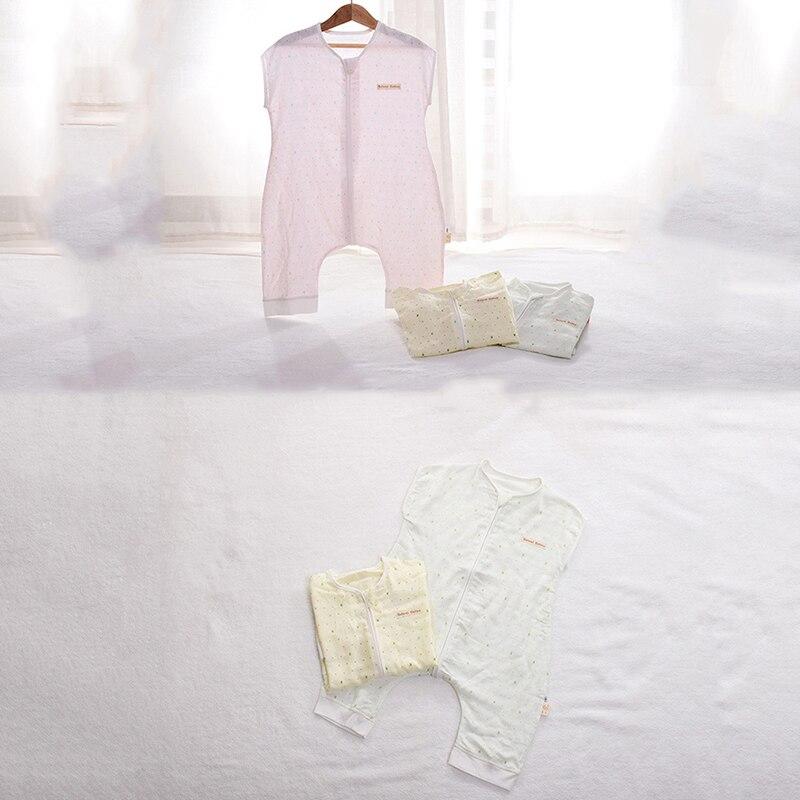 Saco de Dormir de muselina de algodón Para bebé, suave, Para primavera...