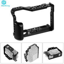 Cage de caméra en aluminium BGNING pour Fujifilm X-T3 /XT3 /XT2 /X-T2 stabilisateur de photographie DSLR étui de protection