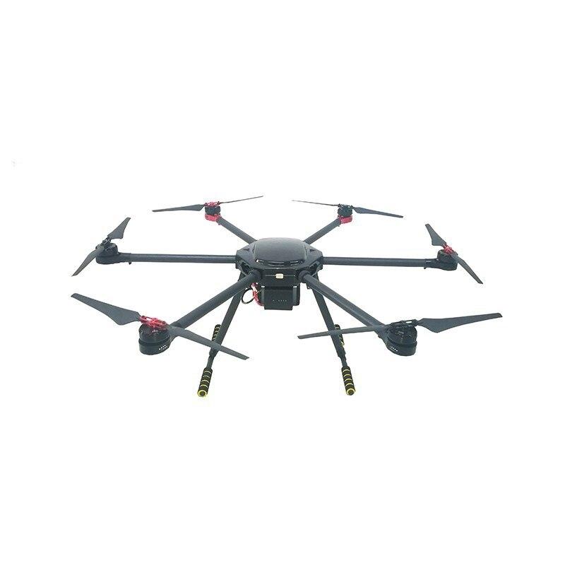 Fly Dragon fibra de carbono plegable industrial personalizado drone marco drone kit armazón de uav