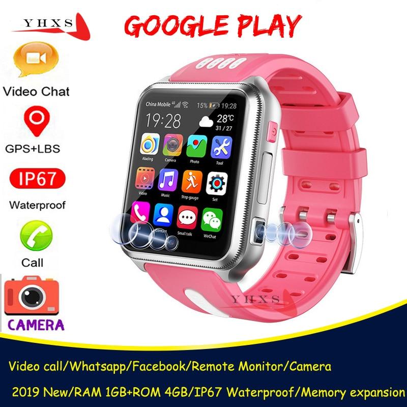 الذكية 4G لتحديد المواقع الاطفال طالب بلوتوث الموسيقى كاميرا ساعة اليد Whatsapp مكالمة فيديو رصد المقتفي موقع أندرويد ساعة الهاتف