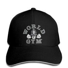 Baseball cap W101 World Gym Print hat Gorilla logo Bodybuilding Print hat