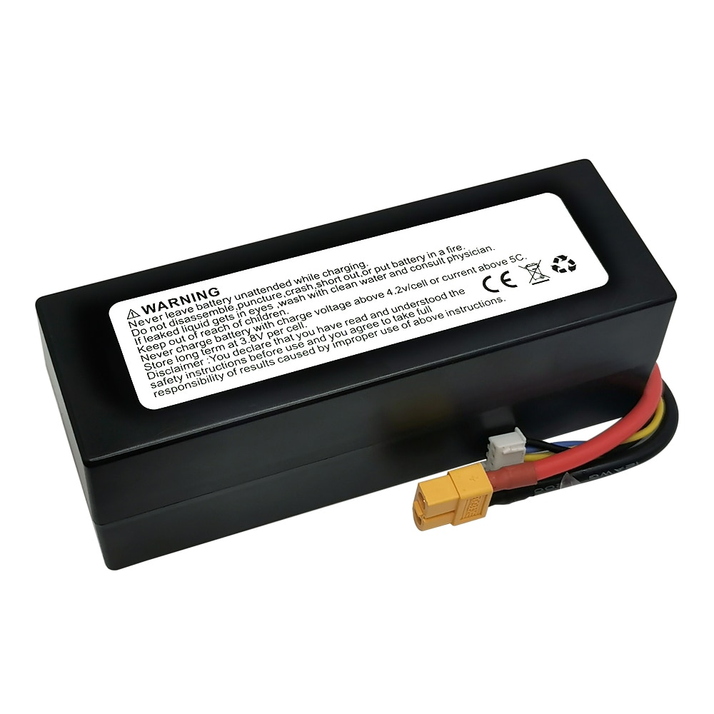 DXF 8400mAh 14.8V 120C Lipo Battery for RC Car 4S RC Lipo Battery with EC5 XT90 Plug for RC Car Truck Helicopter Boats enlarge