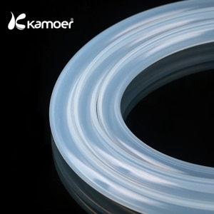Kamoer Silicone Tube with Good Temperature Resistance and Chemical Resistance (Made in China, Water Tube, Transparent Tube)
