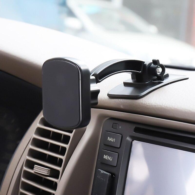 360 grad Rotierenden Auto Einstellbare Paste Magnet Magnetischer Halter Magnetische Auto Telefon Halter Cradle Halterung Für Handy GPS