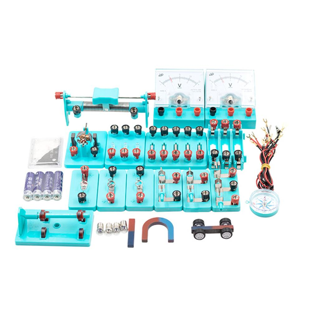 School Physics Labs Basic Electricity Discovery Circuit and Magnetism Experiment kits for Junior Sen
