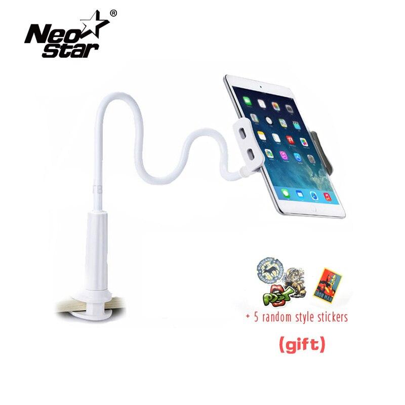 Soporte Flexible para tableta para iPad Mini Air Kindle Samsung Phone para Iphone 3,5-10,5 pulgadas cama perezosa Tablet PC soportes plegables