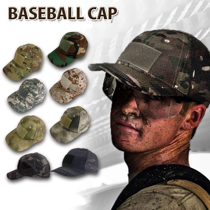Gorra de béisbol del ejército militar de camuflaje gorra táctica hombres marrón Camo Snapback sombrero al aire libre deporte pesca caza sombreros
