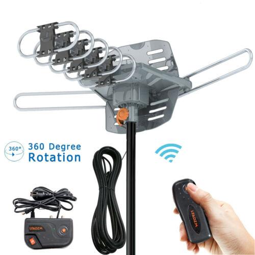 Antena de Tv al aire libre Digital HD de 360 grados alta ganancia señal fuerte antena de Tv al aire libre para Full Hd720p 1080p 1080i 4k televisión