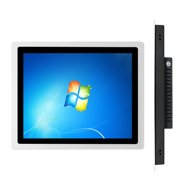 21.5 inch Embedded capacitive touch industrial computer,4G RAM 32G SSD core i5 ,can be used for wall-mounted all-in-one PC
