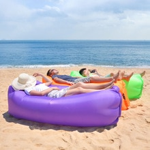 Adult Beach Lounge Chair Fast Folding camping sleeping bag Waterproof Inflatable sofa bag lazy campi
