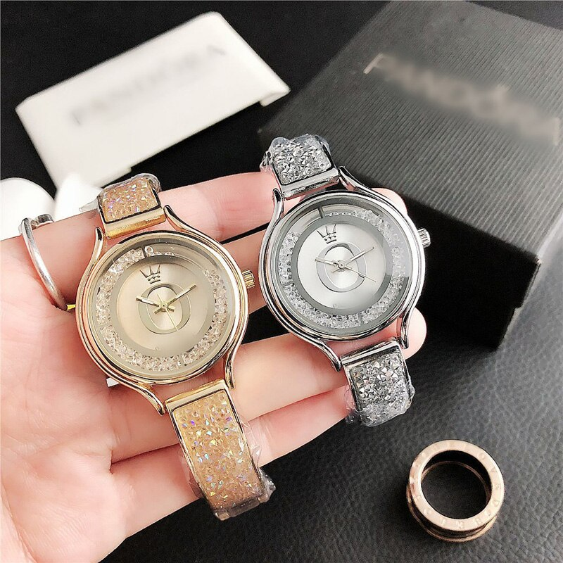 YUNAO Jewelry INS Harajuku Style Casual Ladies Watch Removable Rhinestone Men's and Ladies Watch Retro Special Ladies Watch enlarge