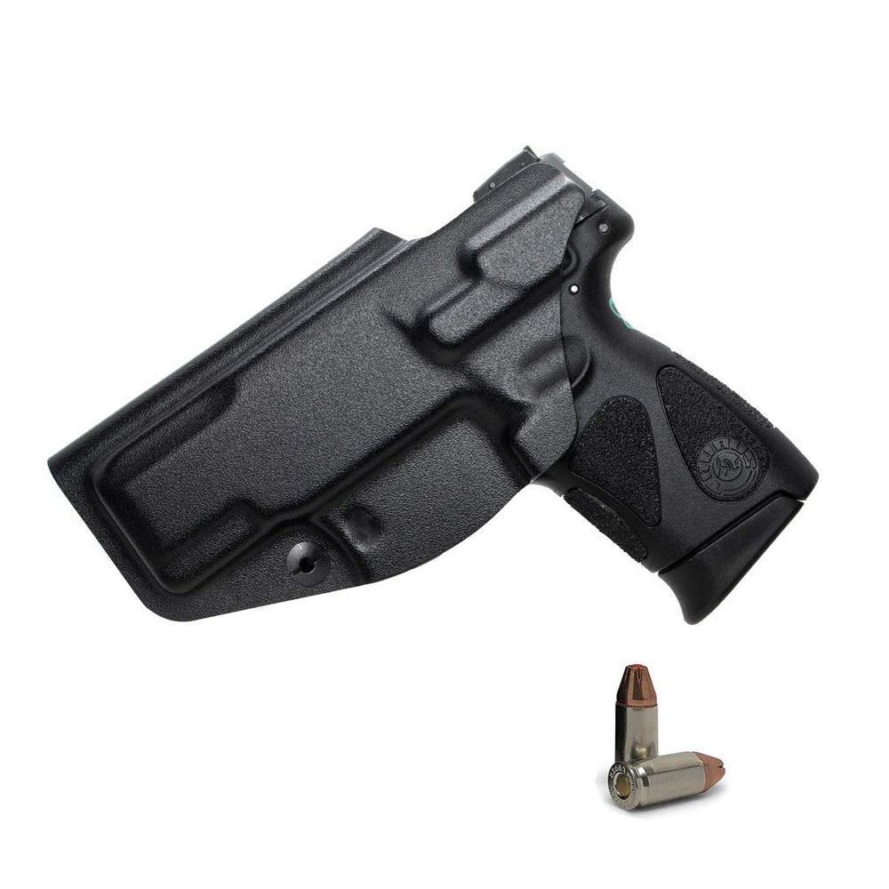 Étui Glock, étui IWB KYDEX ajustement personnalisé Glock 17 19 19X 22 26 27 33 43 43X (Gen 1-5)/S & W M & P Shield 2.0-9 MM/. 40 S & W à lintérieur
