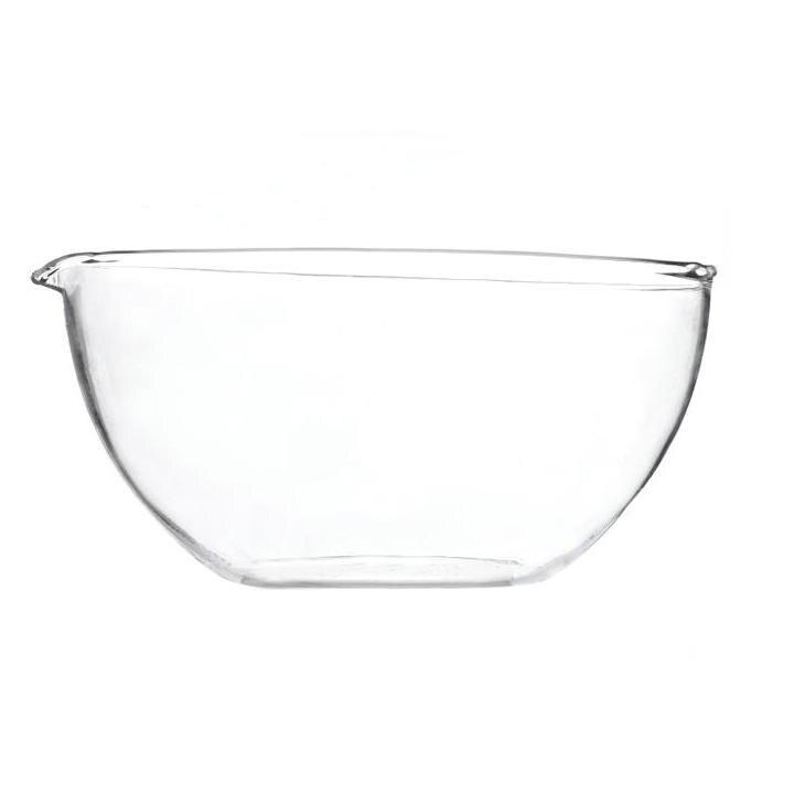 10 unids/lote de vidrio de laboratorio de fondo plano, plato de evaporating con diámetro de pico de 60mm