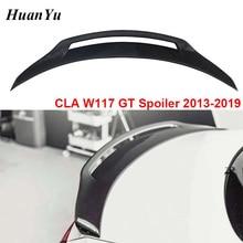 W117 GT Trunk Spoiler for B-benz CLA Class W117 Carbon Fiber Rear Ducktail Boot Wings CLA45 CLA200 CLA220 CAL260 2013 2014+