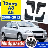 only suitable for chery a3 a5 2008 2012 special fender car mudguard mud flaps high quality free shipping