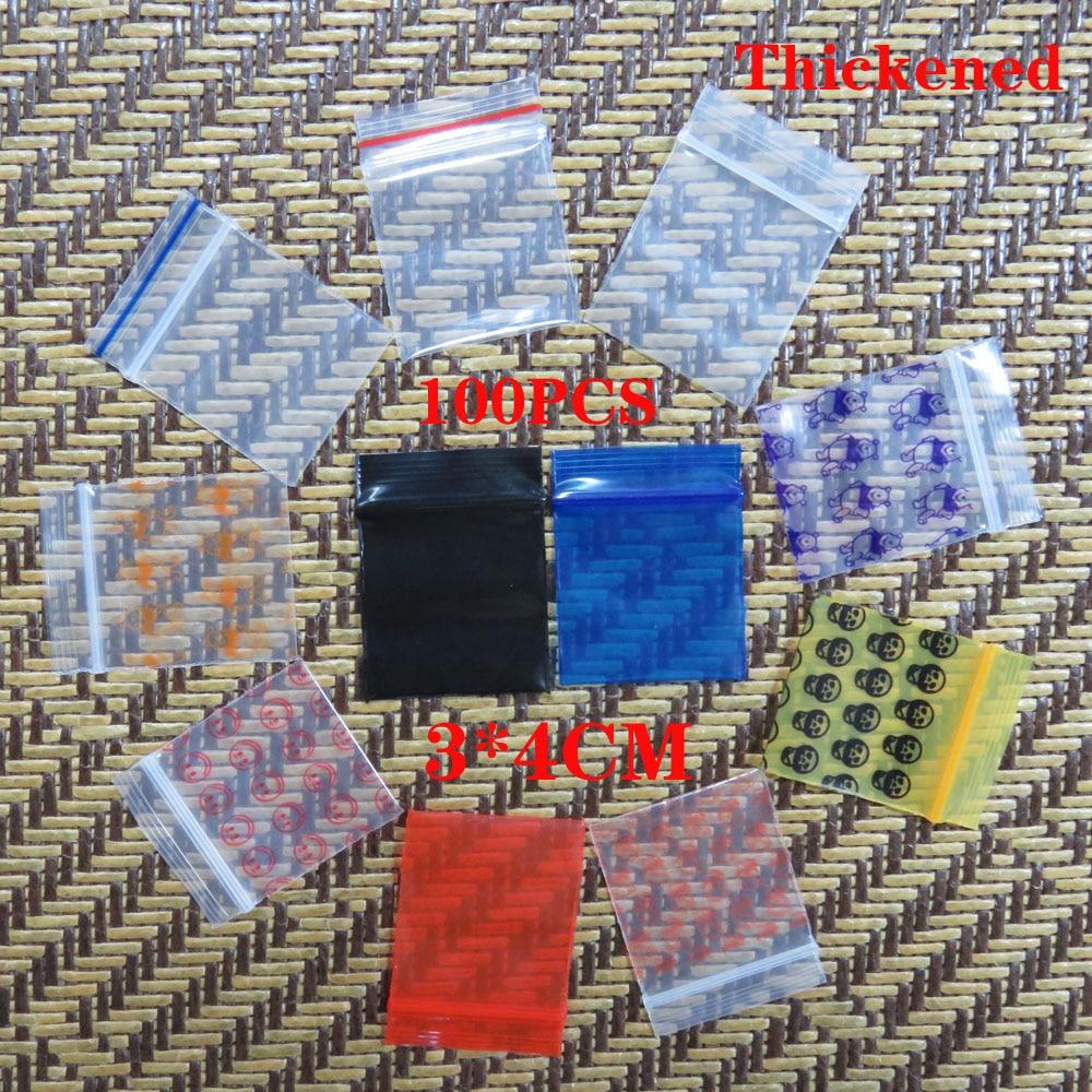 100Pcs Mini Zip lock Bags Cheaper Small Plastic Zipper Bag Ziplock Bag Plastic Packaging Bags Ziplock Pill Packaging Pouches 30pcs lot 2size translucent packaging bag plastic bags pouches wrappers cupcake 8 5x23cm