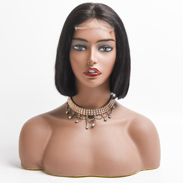 Best price Bob straight Human Hair Wig For Women, Wholesale Cheap Price Pre plucked 4*4 Closure Lace Hair Wigs