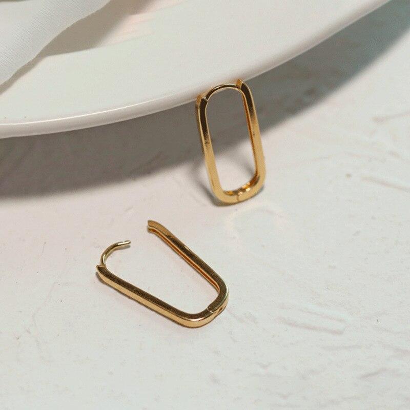 Геометрические-серьги-узорчатые-золотые-серьги-Для-женщин-серьги-в-виде-колец-металлические-овальные-Форма-Новый-Мода-серьги-для-женщин-в
