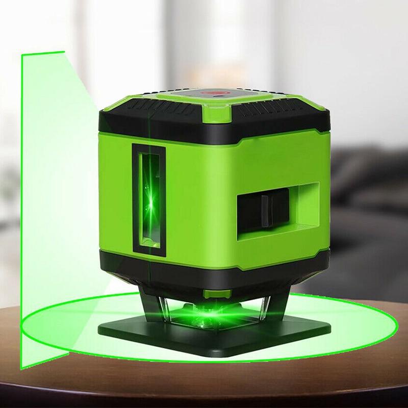 3D 5 خطوط الأخضر شعاع مستوى الذاتي الإستواء البسيطة المحمولة مستوى للبلاط وضع الطابق محاذاة ALI88