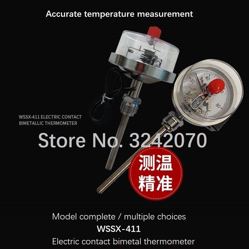 WSSX 411/401 Электрический биметаллический термометр с верхним и нижним диапазоном
