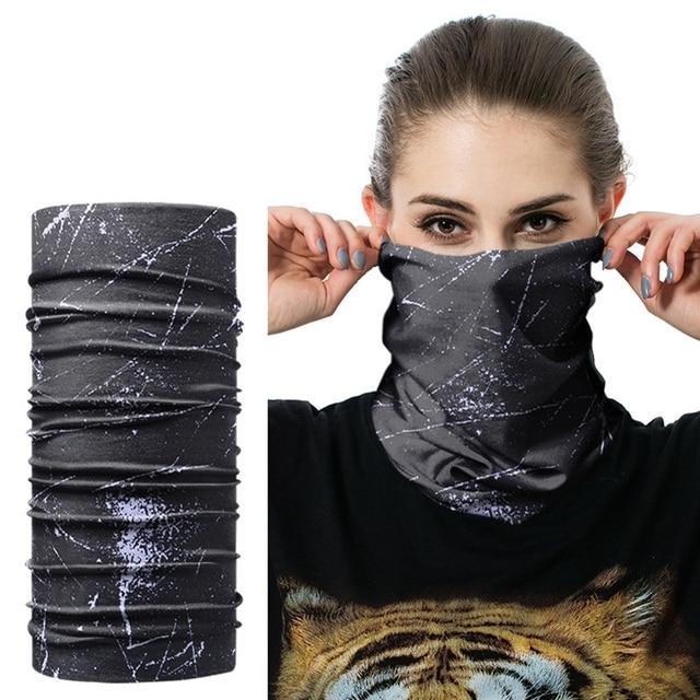 1pc Windpproof Head Scarves Neck Warmer Cycling Camping Hiking Men Women Fashion Magic Scarves Turban Outdoor Headband Bandanas